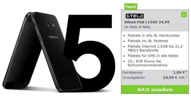 Samsung Galaxy A5 + otelo Allnet-Flat L