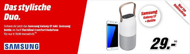 Samsung Galaxy S7 + Bottle + Vodafone Flat Allnet Comfort (md)