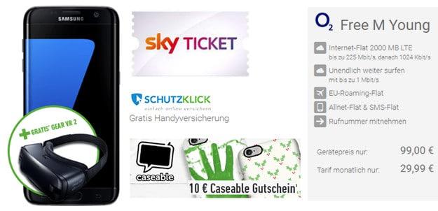 Samsung Galaxy S7 Edge + o2 Free M DeinHandy