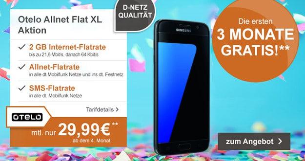 Samsung Galaxy S7 + otelo Allnet-Flat XL LogiTel