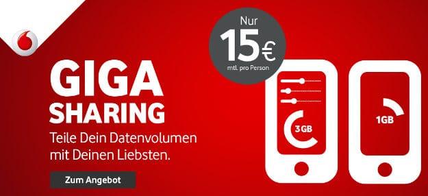 Vodafone GigaSharing
