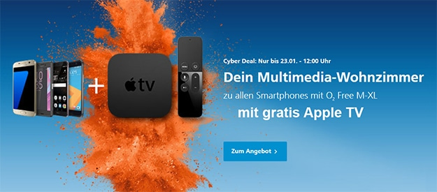 cyber deal apple tv
