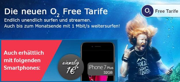 iPhone 7 + o2 Free XL