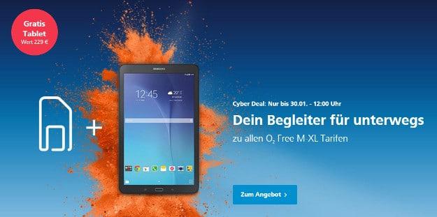 o2 Cyberdeal Samsung Galaxy Tab E