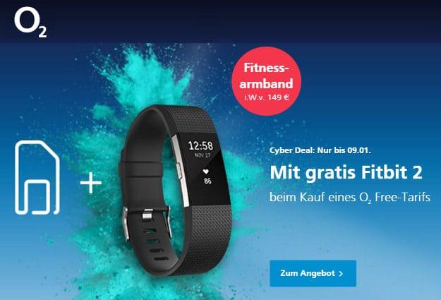 o2 Fitbit 2 Aktion