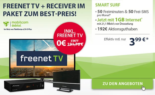 o2 Smart Surf (md) + freenet TV