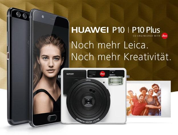 Huawei P10 + Vodafone Smart L