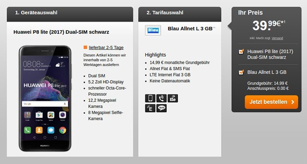 Huawei-P8-lite-Blau-Allnet-L