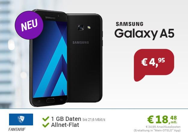 Samsung Galaxy A5 (2017) + VfL Bochum Tarif