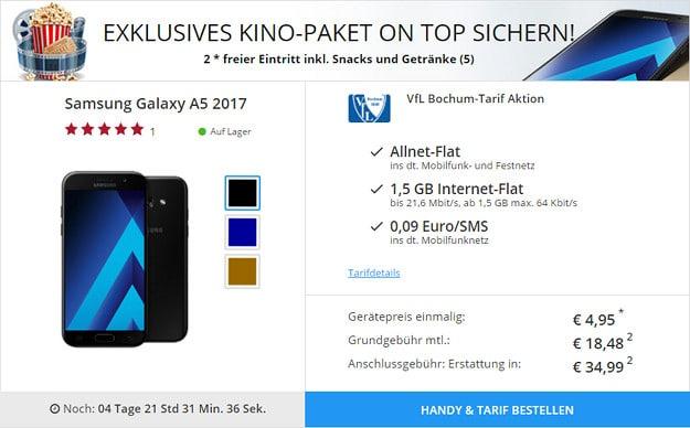 Samsung Galaxy A5 + VfL-Bochum-Tarif