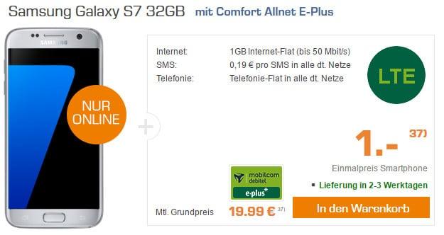 Samsung Galaxy S7 + E-Plus Comfort Allnet (md) Saturn
