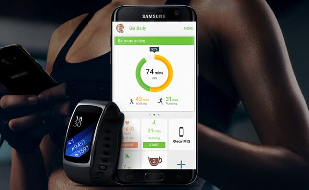 Samsung Galaxy S7 + Gear Fit 2
