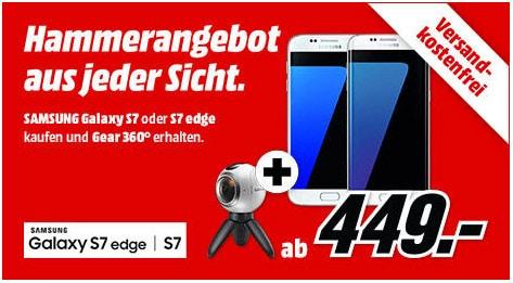 Samsung Galaxy S7 - Gear 360 Kamera