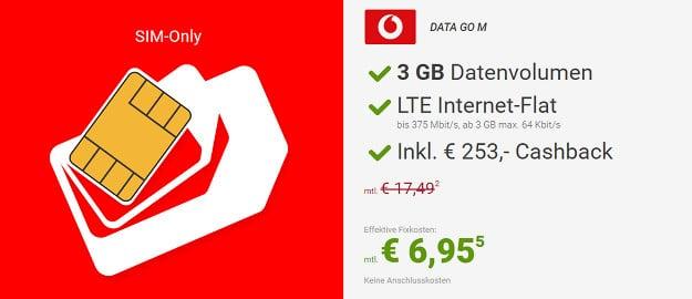 Vodafone DataGo M Sparhandy