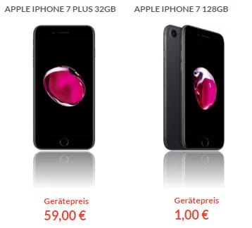 iphone 7 128gb telekom family card m ab eff 7 99 mtl. Black Bedroom Furniture Sets. Home Design Ideas