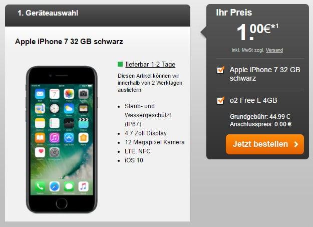 iPhone 7 + o2 Free L Handyflash