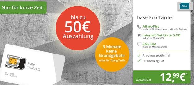 BASE Eco Pro mit Cashback modeo