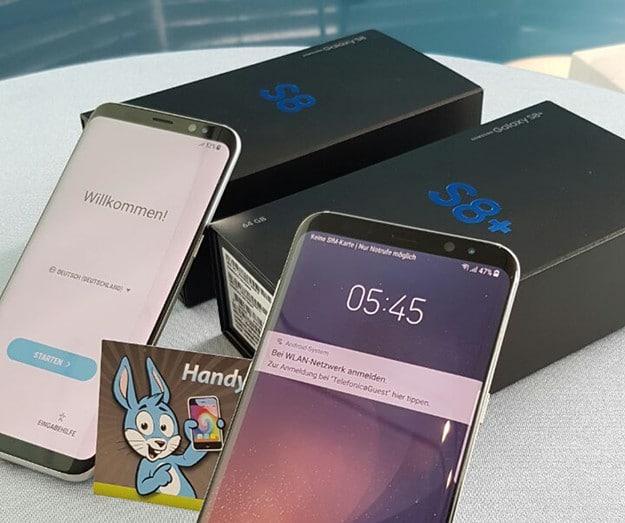 Galaxy S8 ausprobiert