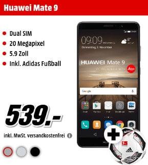 huawei mate 9 ohne vertrag f r 539 bei media markt. Black Bedroom Furniture Sets. Home Design Ideas