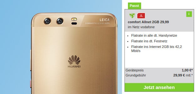 Huawei P10 + Vodafone Comfort Allnet (md)