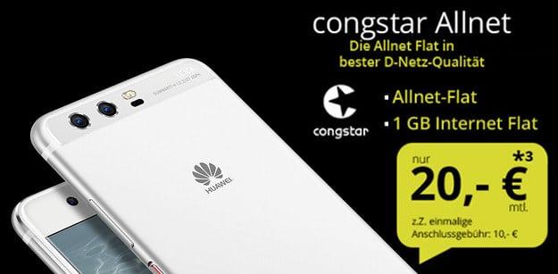 Huawei P10 + congstar Allnet-Flat
