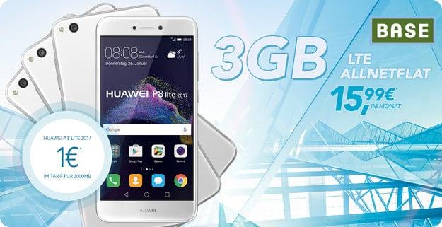 Huawei P8 Lite (2017) + BASE Pur