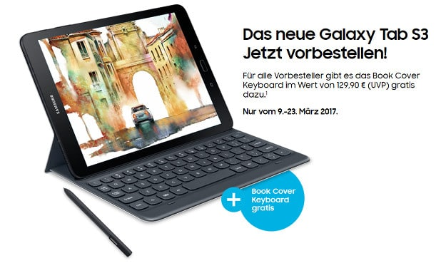 Samsung Book Cover Keyboard gratis