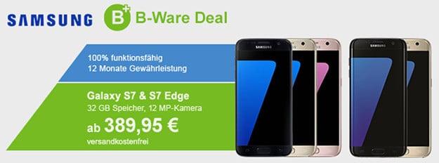 Samsung Galaxy S7 Demo-Ware