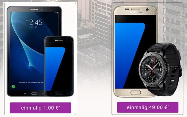 Samsung Galaxy S7 + Vodafone Smart L Ttw