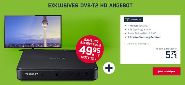 dvb-t2 freenet tv