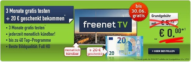 freenet TV monatlich kündbar Handybude