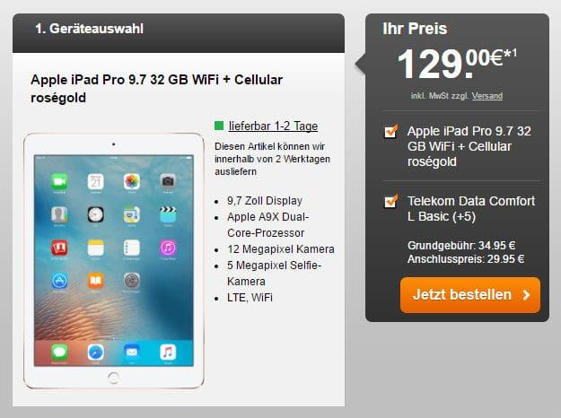 iPad + Telekom Data Comfort L