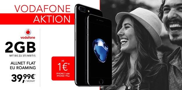 iPhone 7 128GB + Vodafone Smart L Handyflash