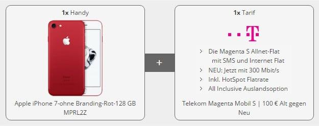 iPhone 7 + Telekom Magenta Mobil S