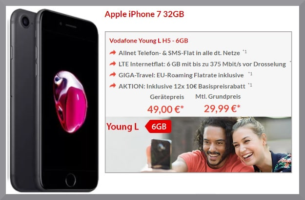 iphone 7 plus vodafone young l