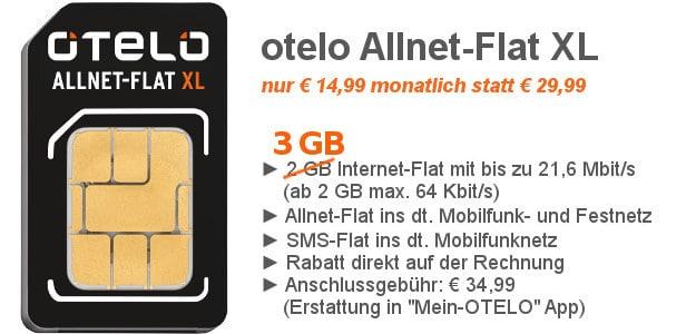 otelo-Allnet-Flat-XL-SIM-only