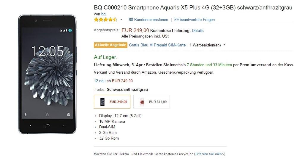 BQ-Aquarius-X5-Plus