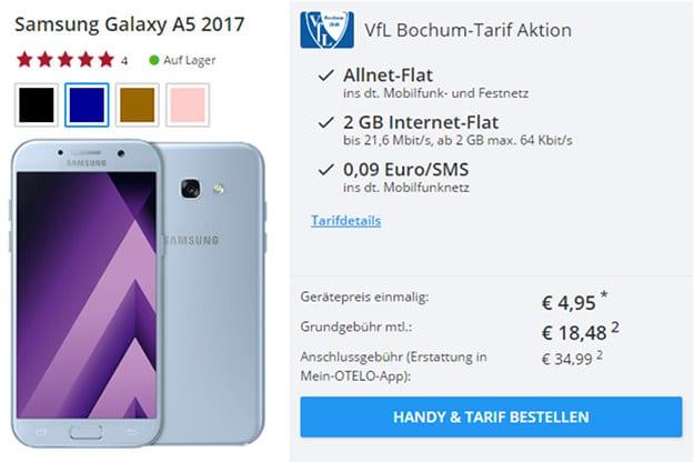 Samsung Galaxy A5 + Bochum Tarif