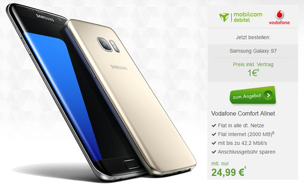 Samsung Galaxy S7 + Vodafone Comfort Allnet (md) modeo