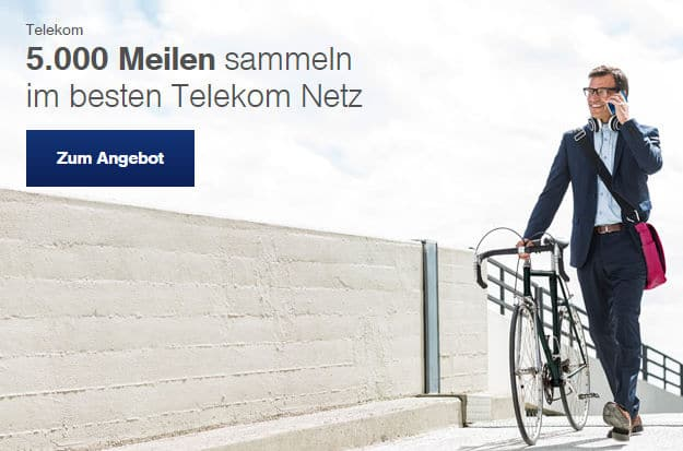 Telekom Miles and More Flugmeilen