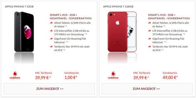 iPhone 7 + Vodafone Smart L Pb24