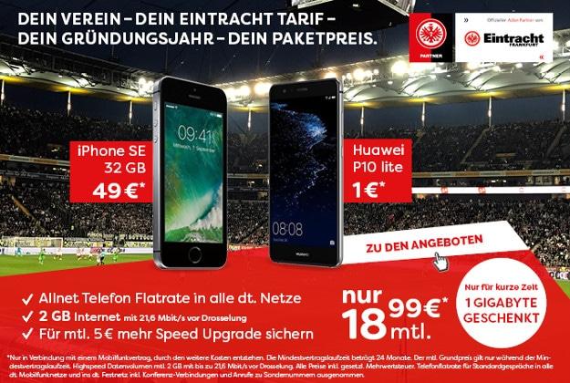 iphone se + otelo eintracht tarif
