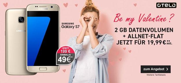 Samsung Galaxy S7 + otelo Allnet-Flat M