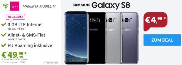samsung galaxy s8 + magenta mobil m md