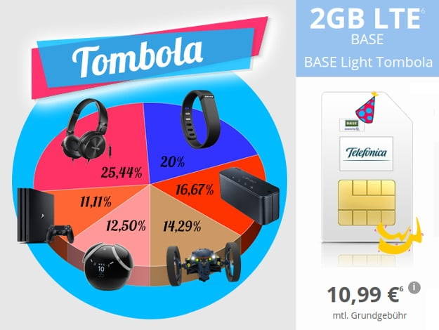 BASE Light tombola