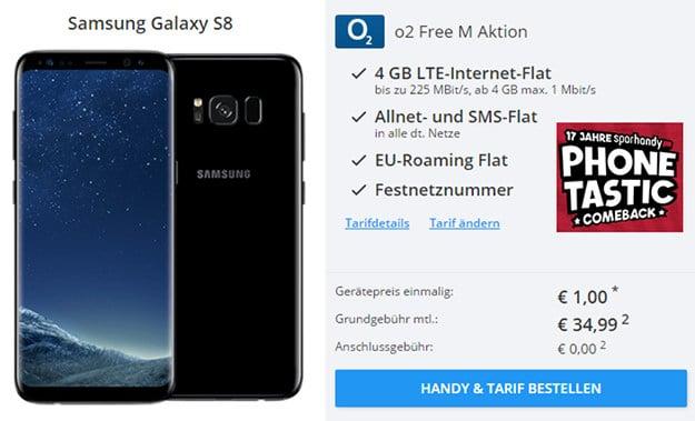 Samsung Galaxy S8 + o2 Free M