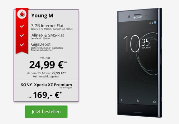 Sony Xperia XZ Premium Young M