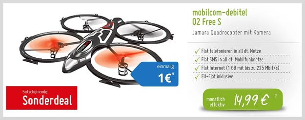 quadrocopter + o2 free s md