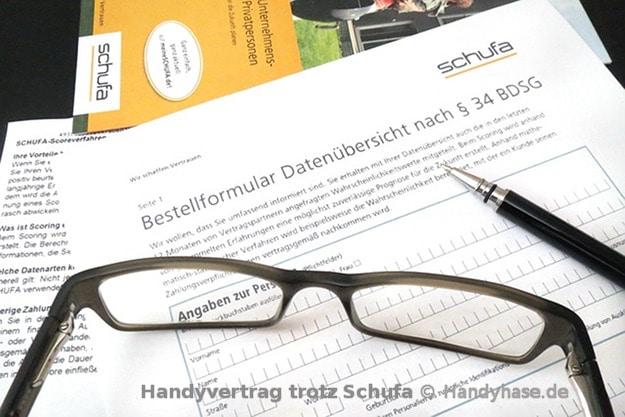 Handyvertrag trotz Schufa - das sind Deine Möglichkeiten bei negativer Bonität!