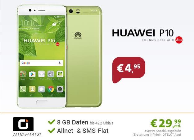 Huawei P10 + otelo Allnet-Flat XL